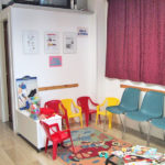 centro ortopedico Neri Team sala attesa giochi bambini