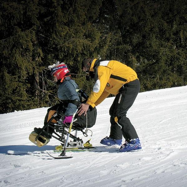 Eventi sulla neve per disabili Neri Team